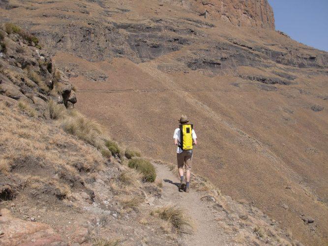 Am letzten Wochenende vor dem Ende meines Praktikums waren wir noch einmal in den Drakensbergen.