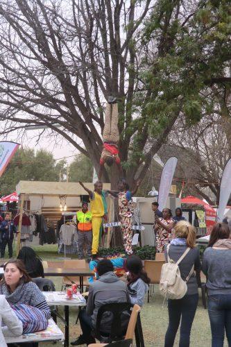 Auf dem Campus war diese Woche ein großes Arts Festival - mir wurde gesagt, dass derartige Feste weit verbreitet sind und fast jedes Wochenende eines in einer anderen Stadt stattfindet.