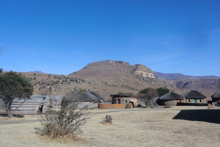 Im Basotho Cultural Village.