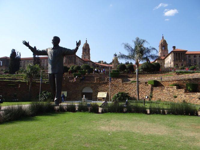 Die Union Buildings, der Sitz der südafrikanischen Regierung.
