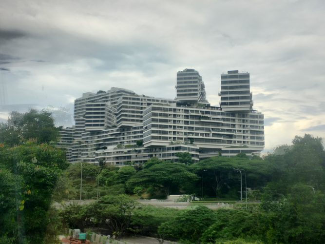 The Interlace by German architect Ole Scheeren, World Building of the Year 2015.