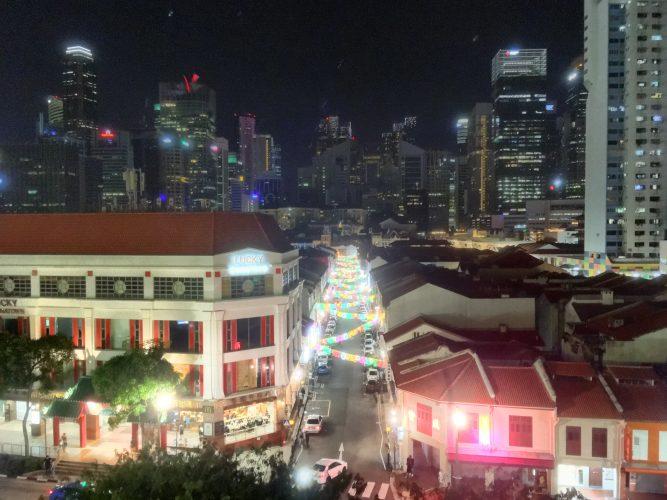 Chinatown at night.