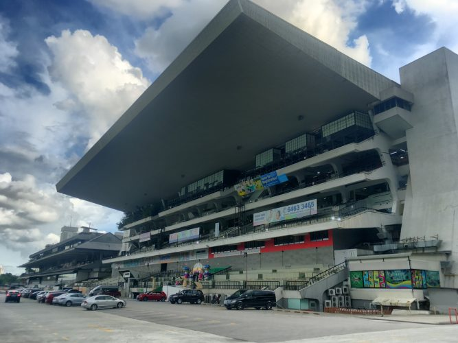 During the summer school, we worked in smaller groups on different projects. Our group worked on the Grandstand, a former horse racing course which has now been transformed into a mall. A very interesting place for Singapore, as for once, not everything is planned in advance...
