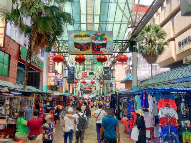 Chinatown overkill.