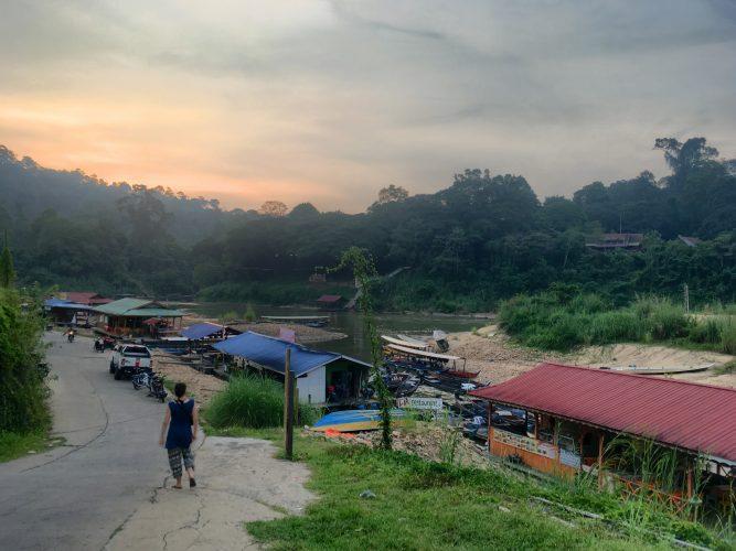 Stop 3: Taman Negara, a big national park full of jungle!