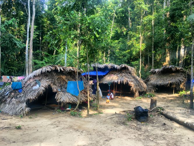 A village of the Orang Asli, the indigenous people of Malaysia.
