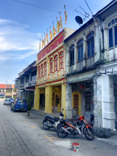 Last stop: Georgetown on Penang island close to the border with Thailand. The city was an important trading post in medieval times and combines various cultural influences.