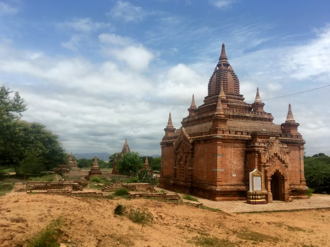 The fantastic temples of Bagan!