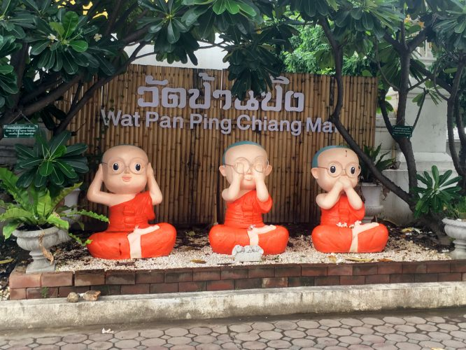 Chiang Mai, the capital of the north, is a city spiked with Buddhist temples.