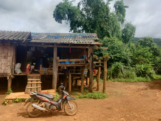 Some impressions from another village we passed through on the second day.