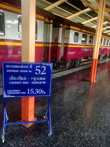 Oldschool train timetable.