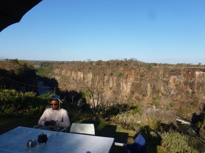 Just above the gorge, there is a nice café offering spectacular views of the bridge and the gorge.